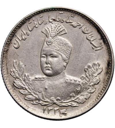 Iran 1000 Dinars (1 Kran/ Qiran) AH 1334 / 1915 AD, Sultan Ahmad Shah