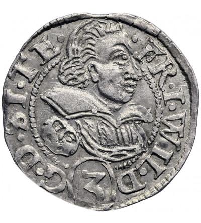 Śląsk. Księstwo cieszyńskie. 3 krajcary 1620, Cieszyn, Fryderyk Wilhelm 1617-1625