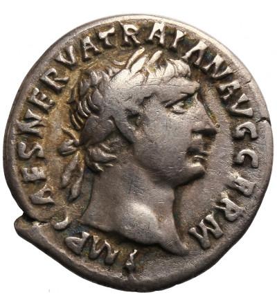 Roman Empire. Traianus 98-117 AD. AR Denarius 101-102 AD, Rome mint