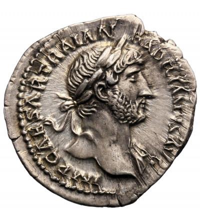 Roman Empire. Hadrianus 117-138 AD. AR Denarius 123 AD, Rome mint