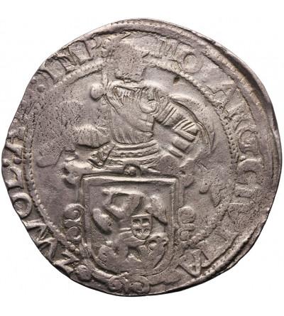 Niderlandy. Talar lewkowy (Leeuwendaalder / Lion Daalder) 1647, Zwolle