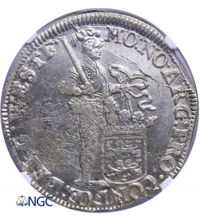 Niderlandy. Talar (Zilveren Dukaat) 1694, Fryzja Zachodnia - NGC MS 62+