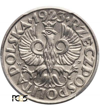 Poland. 20 Groszy 1923, Warsaw - PCGS MS 66