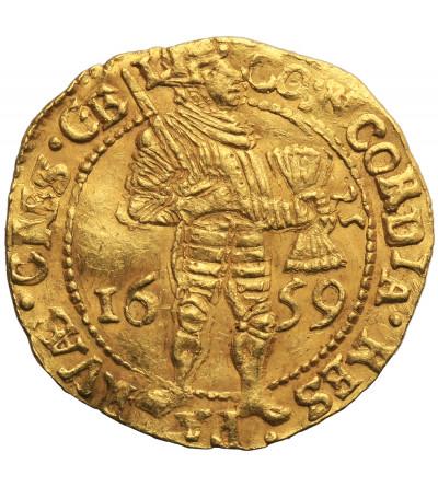 Niderlandy. Dukat (Dukaat) 1659, Geldria