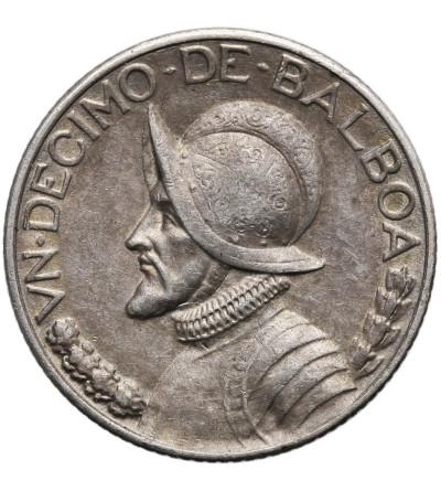 Panama, 1/10 Balboa 1934