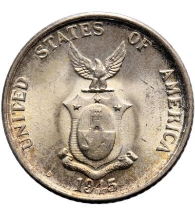 Filipiny 20 centavos 1945 D
