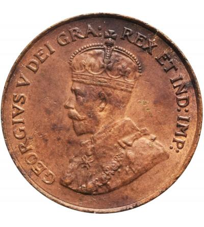 Kanada 1 cent 1920, Jerzy V