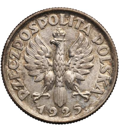 Polska, 1 złoty 1925, kobieta z kłosami