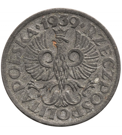 Poland 1 Grosz 1939, German Occupation