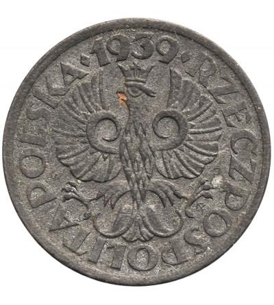Polska 1 grosz 1939, cynk - dla Generalnej Guberni