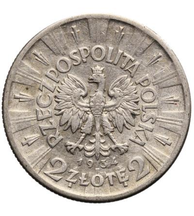 Polska 2 złote 1934, Józef Piłsudski