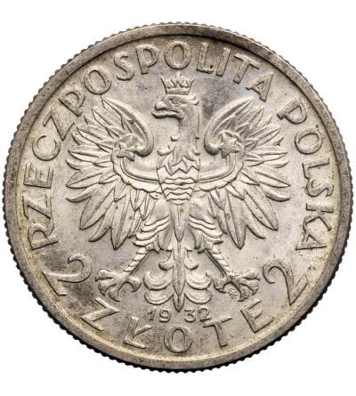 Polska 2 złote 1932, Warszawa, głowa kobiety
