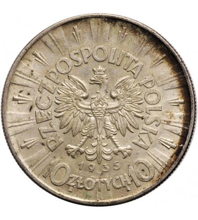 Polska 10 złotych 1935, Warszawa - Józef Piłsudski