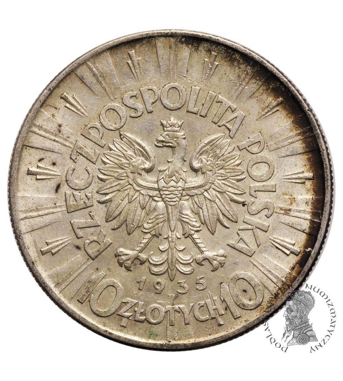 Poland, 10 Zlotych 1935, Warsaw mint - Jozef Pilsudski