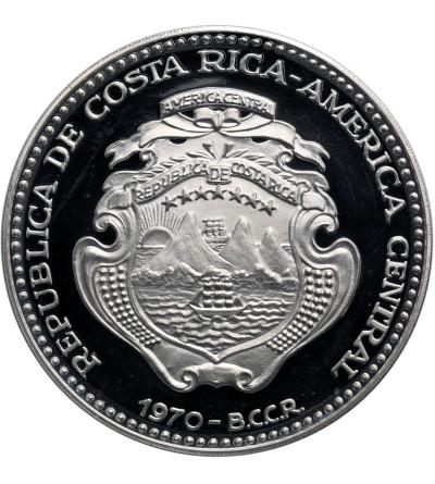 Costa Rica 25 Colones 1970, 25 Years of Social Legislation - Proof