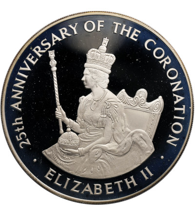 Jamaica 25 Dollars 1978, 25th Anniversary of Coronation - Proof