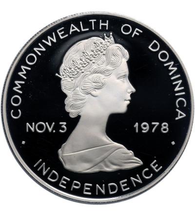 Dominika 10 dolarów 1978, Jan Paweł II - Proof