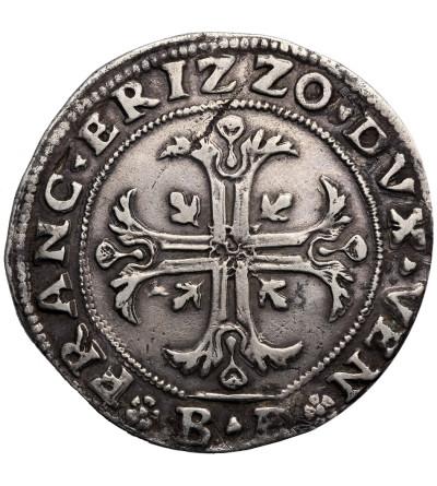 Włochy, Wenecja. Scudo della Croce (140 Soldi) bez daty (1636), Francesco Erizzo, Doge XCVIII (1631-1646), Bernardo Balbi