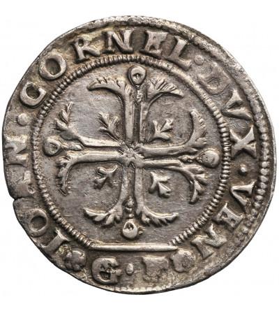 Włochy, Wenecja. 1/4 Scudo (35 Soldi) bez daty (1627-1628), Giovanni Corner I Doge XCVI (1625-1629), Giacomo Pesaro