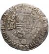 Niderlandy Hiszpańskie (Belgia), Flandria. 1/2 Patagona 1665, Brugia, Filip IV