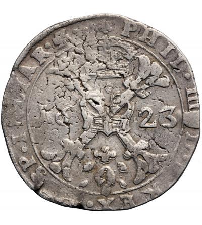 Niderlandy Hiszpańskie, Burgundia. Talar (Patagon) 1623, Dole, Filip IV