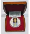 Białoruś 1000 rubli 2007, Krzyż Eufrzyny Połockiej - 1 kg czystego srebro