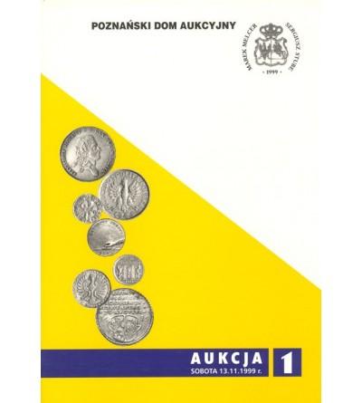 Katalog aukcyjny PDA&PGN Aukcja nr 1 - 13.11.1999 r.