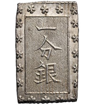 Japonia, 1 Bu (Ichibu) w srebrze bez daty (1859-1868 AD), Ansei