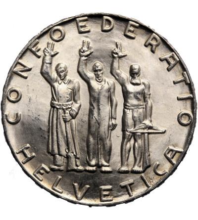 Szwajcaria, 5 franków 1941 B, 650 Rocznica Konfederacji