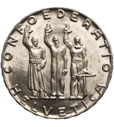 Switzerland, 5 Francs 1941 B, 650th Anniversary of Confederation