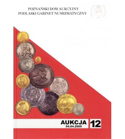 Katalog aukcyjny PDA&PGN Aukcja nr 12 - 04.04.2009 r.