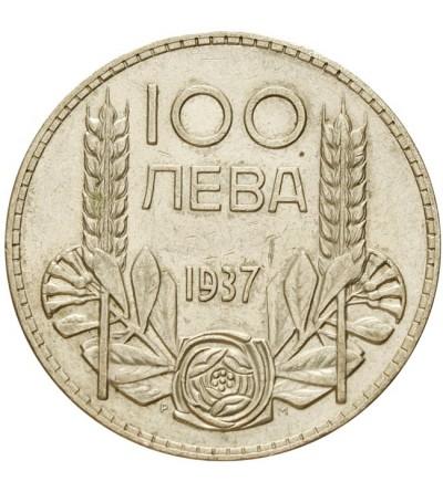 Bułgaria 100 lewa 1937