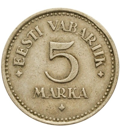 Estonia 5 marek 1922