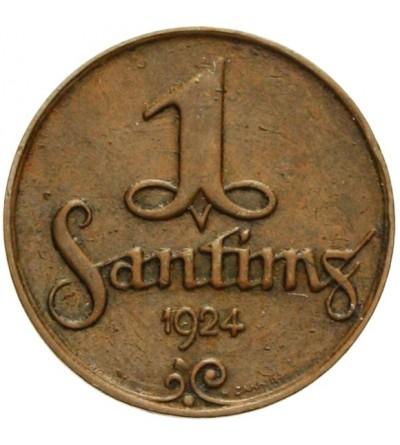 Łotwa 1 santims 1924