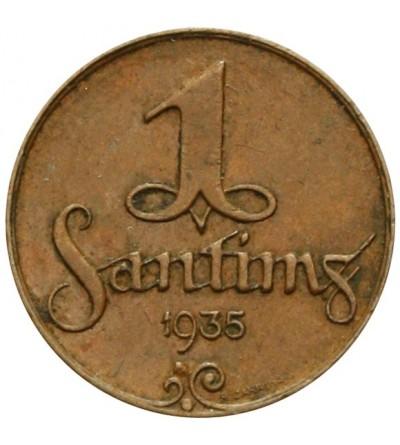 Łotwa 1 santims 1935