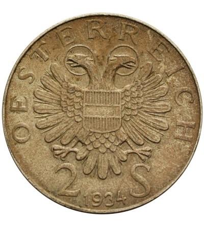 Austria 2 szylingi 1934