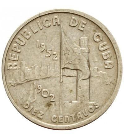 Kuba 10 centavos 1952