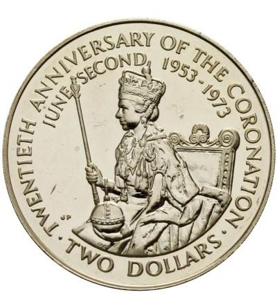 Wyspa Cooka 2 dolary 1973