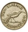 Nowa Zelandia 6 pensów 1941