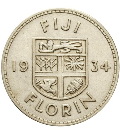 Fidżi 1 floren 1934