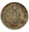 Francja 20 centimes 1867 A