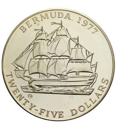 Bermudy 25 dolarów 1977