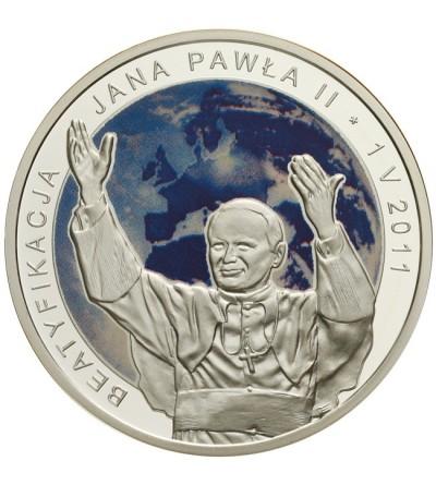 20 złotych 2011 - Beatyfikacja Jana Pawła II