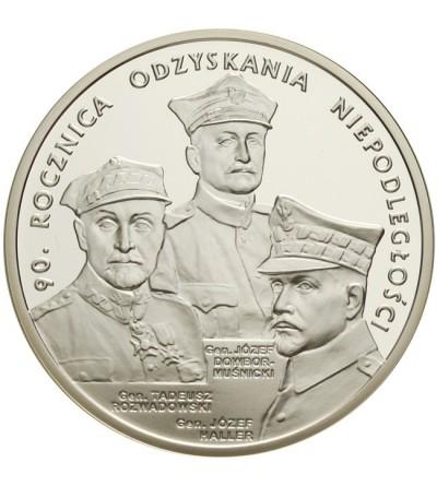 20 złotych 2008 - 90 rocz. Odzyskania Niepodległości
