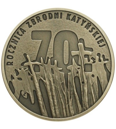 10 złotych 2010 - 70 rocz. Zbrodni Katyńskiej