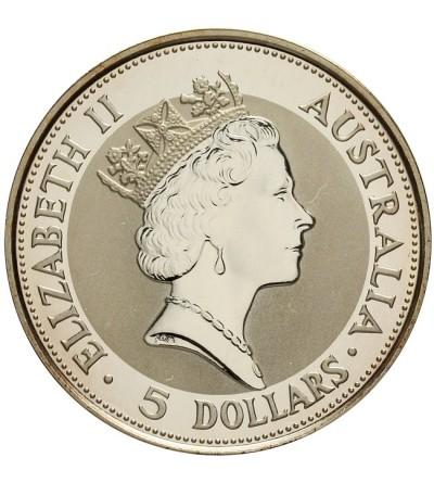 Australia 5 dolarów 1991 Kookaburra