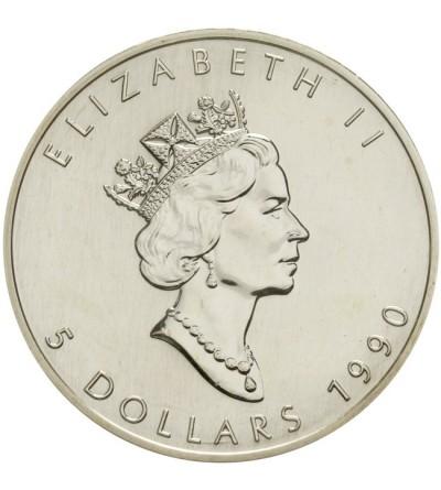 Kanada 5 dolarów 1990