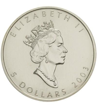 Kanada 5 dolarów 2003