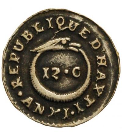Haiti 12 centimes 1814