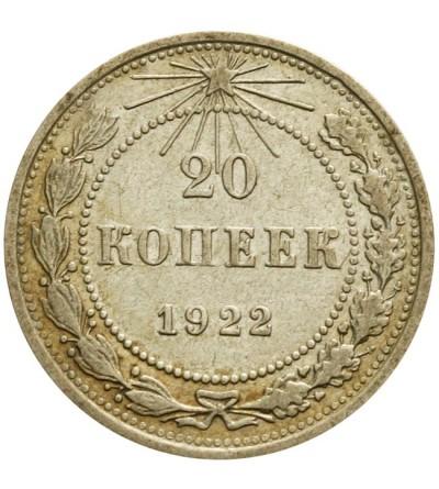 20 kopiejek 1922